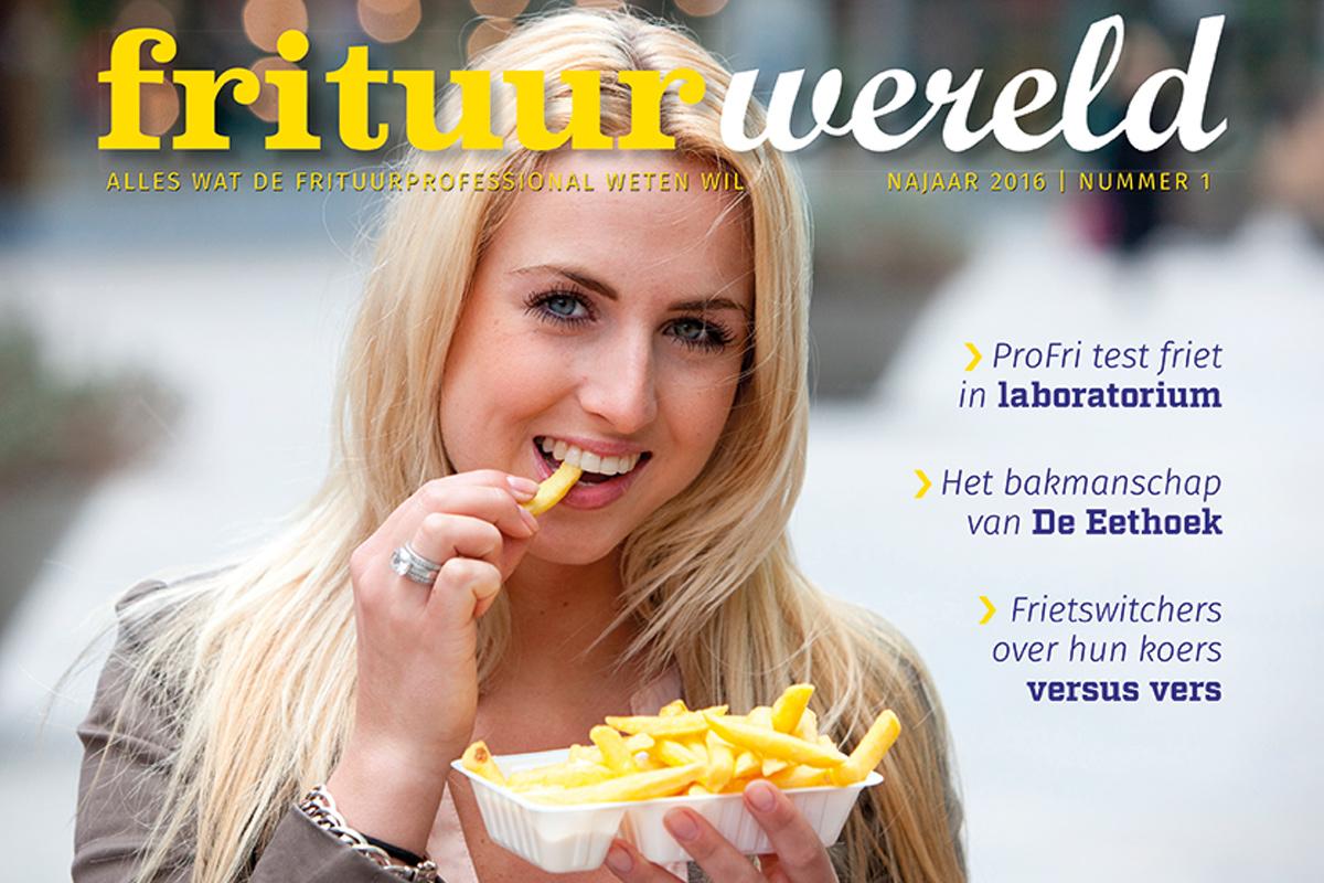 Cover Frituurwereld - Editie 001 - Najaar 2016