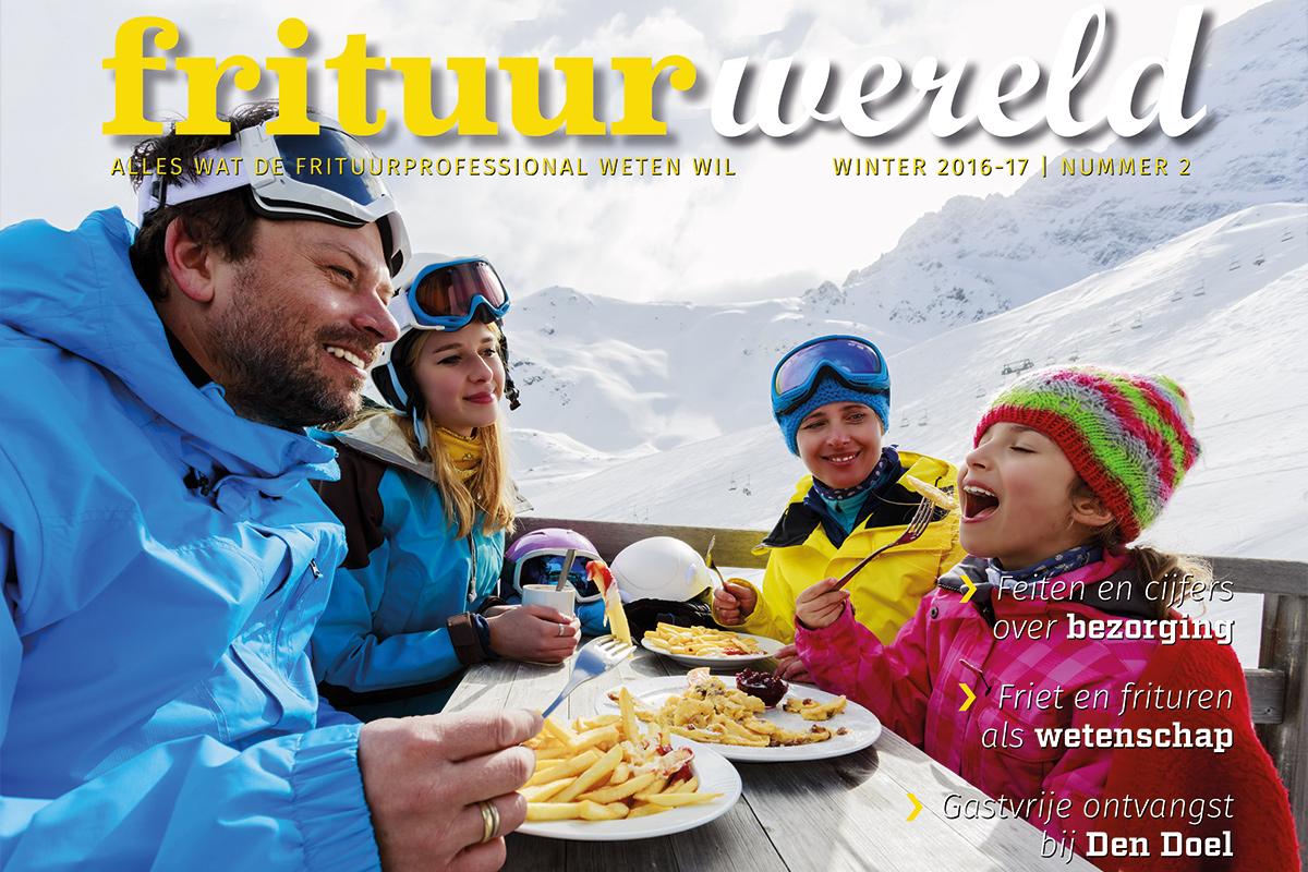 Cover Frituurwereld - Editie 002 - Winter 2016-17