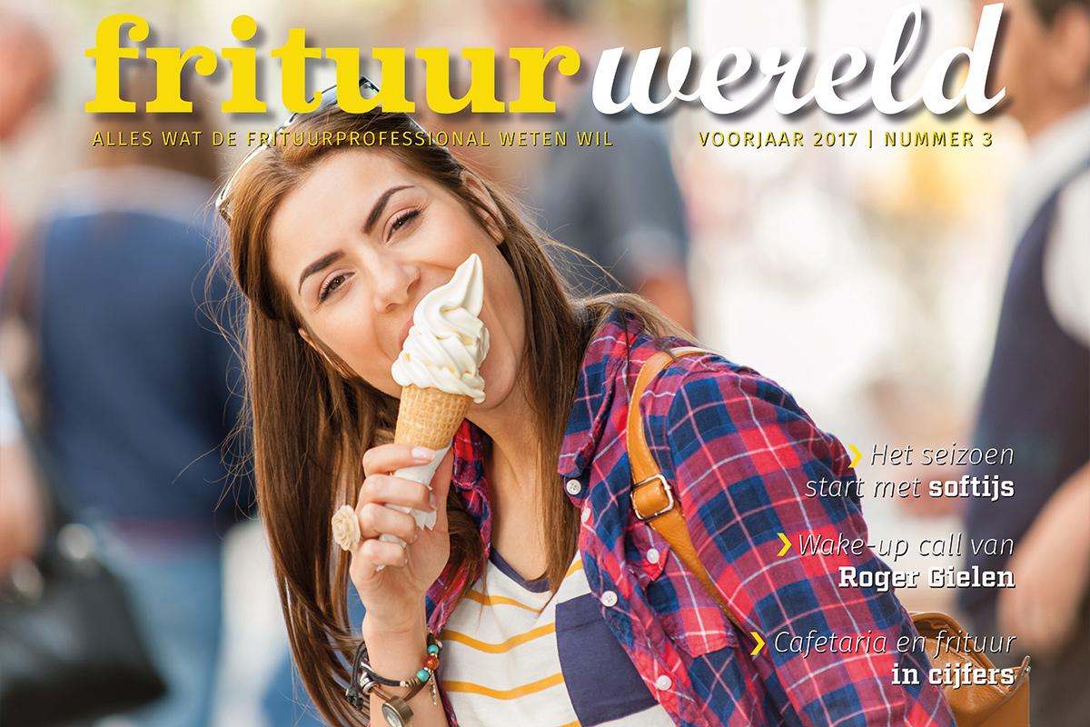 Cover Frituurwereld - Editie 003 - Voorjaar 2017