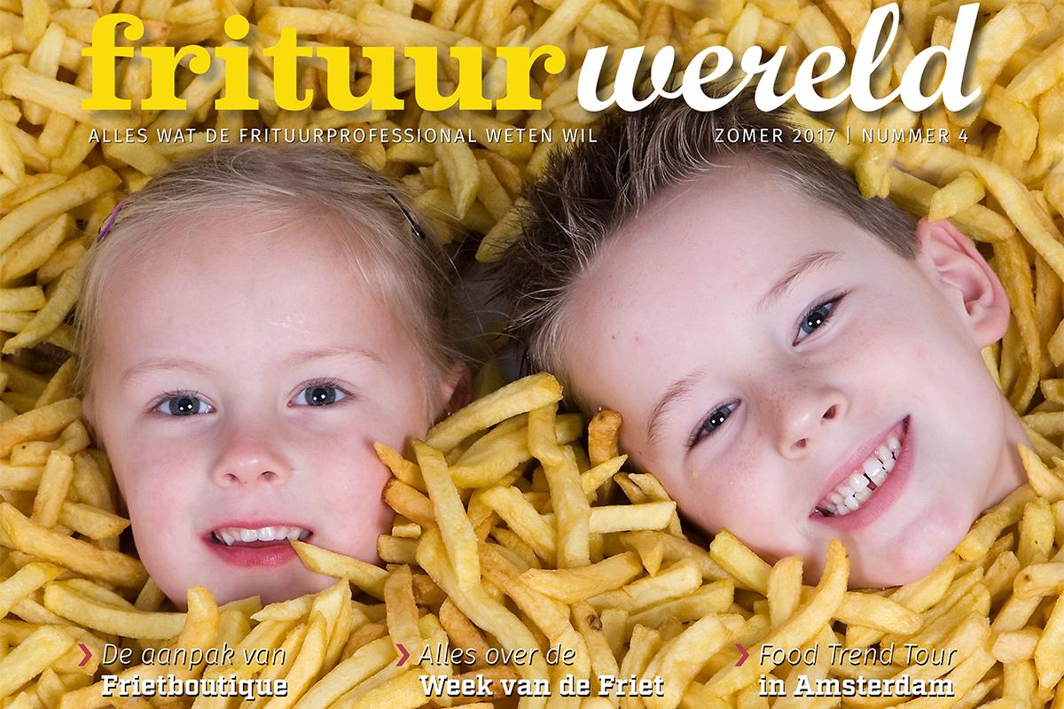 Cover Frituurwereld - Editie 004 - Zomer 2017