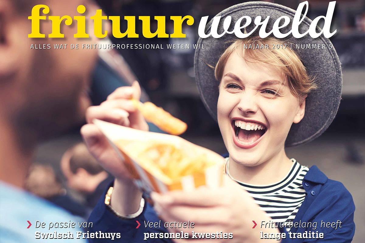 Cover Frituurwereld - Editie 005 - Najaar 2017